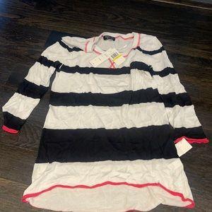 Spense knits 3/4 sleeve shirt